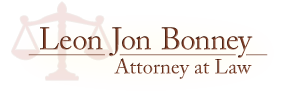 leon jon bonney, attorney at law